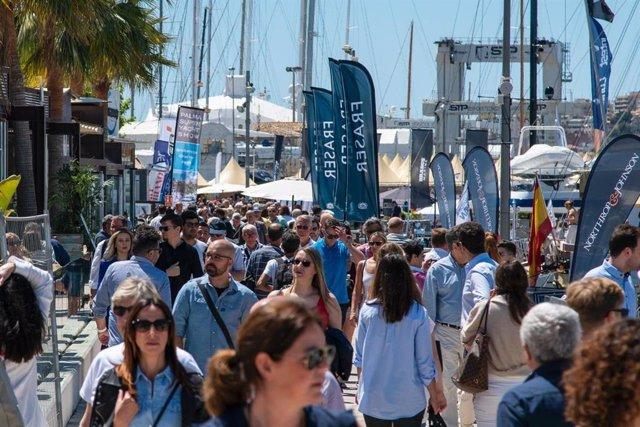 Los visitantes puntúan con un 'excelente' la oferta del Palma International Boat Show