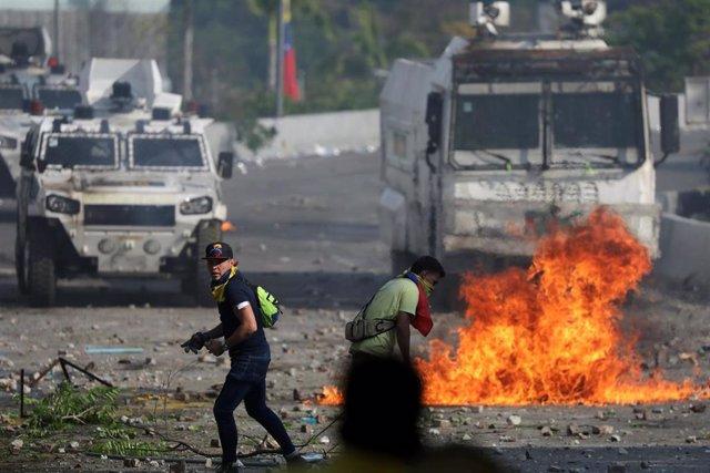 Venezuela.- Muere una mujer de 27 años en el marco de las protestas en Venezuela