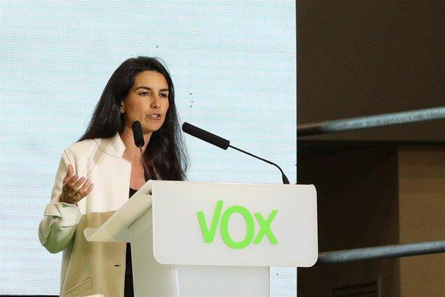 2Mayo.- Vox defiende la recuperación de las competencias de Interior y Justicia para garantizar la igualdad y derechos
