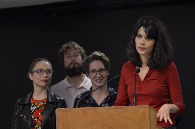 """Isa Serra destaca el """"daño"""" que ha hecho el 'aguirrismo' y se refiere a Díaz Ayuso como """"la de los favores de la Púnica"""""""