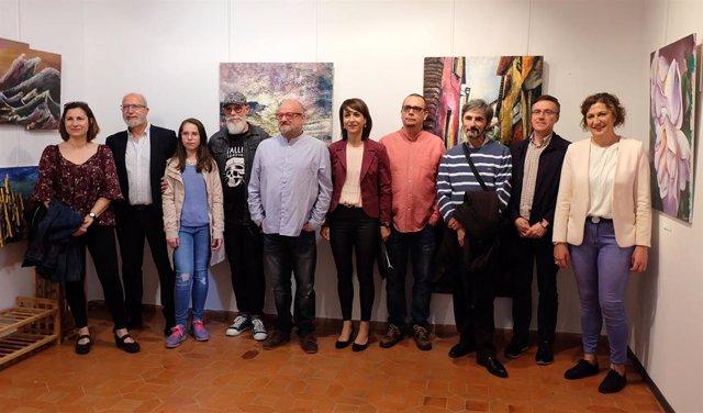 Zaragoza.- Los alumnos del Centro Atelier de Artistas muestran sus obras en una exposición hasta el 26 de mayo