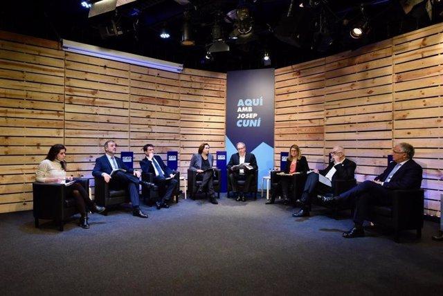 """26M.- Colau Plantea Un """"Acuerdo Estable De Izquierdas"""" En Barcelona En Un Debate Con Alcaldables"""