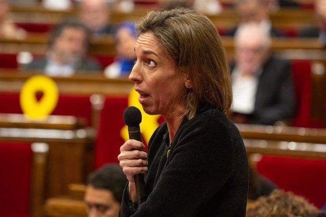 Pleno en el Parlament de Catalunya