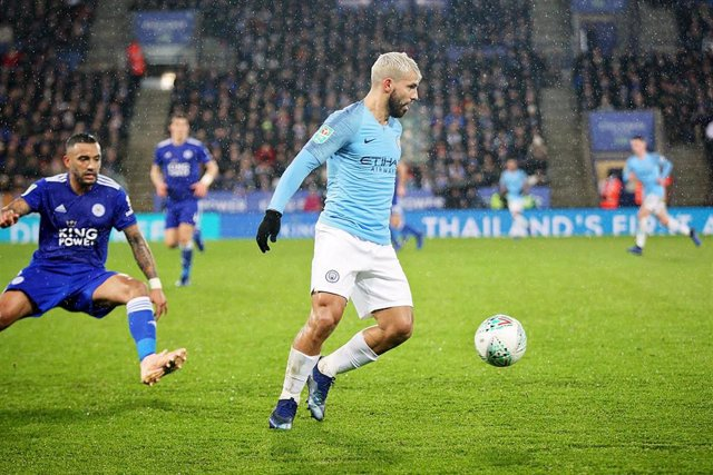 FOOTBALL - ENGLISH LEAGUE CUP - LEICESTER CITY v MANCHESTER CITY
