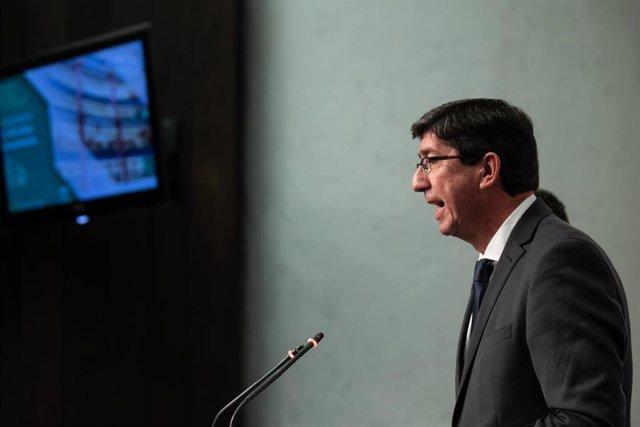 """28A.- AM.- Marín acusa a Sánchez de """"mentir"""" en debate sobre petición de datos a profesionales de la violencia de género"""