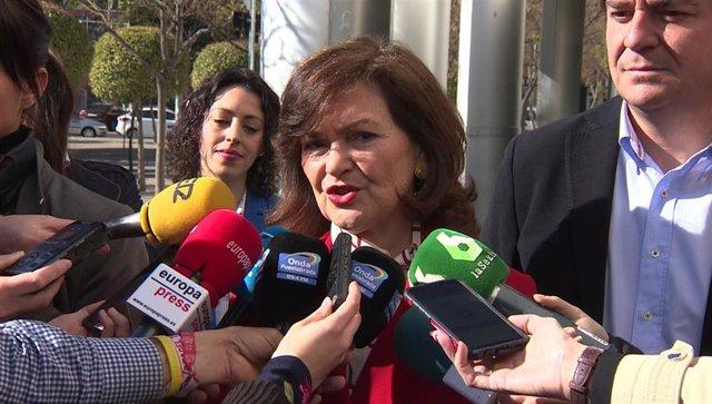"""Calvo evita opinar sobre la decisión del juez sobre el caso María José Carrasco pero pide una ley de eutanasia """"pronto"""""""