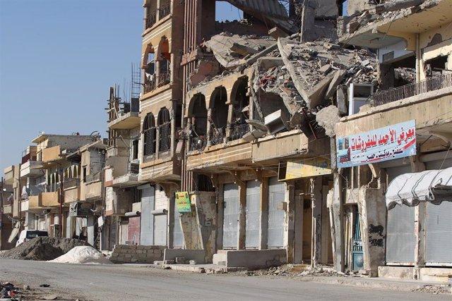 Calle de Raqqa
