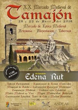 Cartel del Mercado Medieval de Tamajón