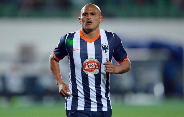 Humberto Suazo, jugador del Monterrey