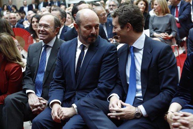 """2Mayo.- Casado presenta al PP como el """"dique de contención"""" contra los """"gobiernos de izquierdas y de extrema izquierda"""""""