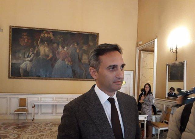 """28A.- César Sánchez (PP) descarta un """"pulso"""" por presidir la Diputación: """"Todo dependerá del partido"""""""