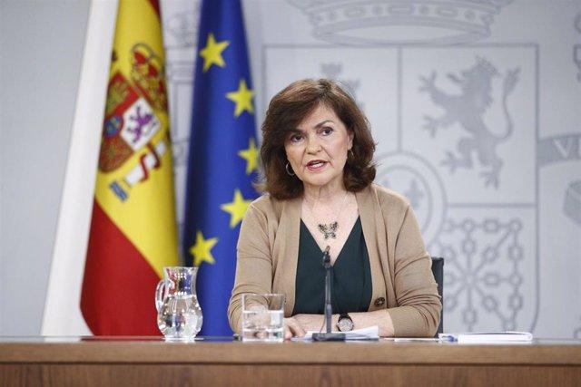 """Calvo replica a Aznar sobre la exhumación de Franco: """"Que se lo diga a la ONU, al Congreso o al Parlamento Europeo"""""""