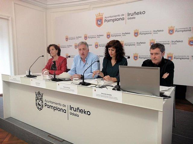 EH Bildu, Geroa Bai, PSN e I-E acuerdan una modificación presupuestaria de 9,7 millones en inversiones para Pamplona