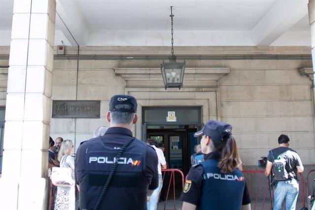 Málaga.-Tribunales.-Prisión para el detenido en Sevilla por la muerte de un hombre en Málaga y arrojar el cuerpo después
