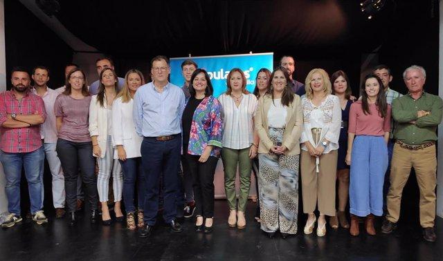 """Sevilla.- 26M.- PP ve a Delgado como próximo alcalde de Burguillos al """"tener en su ADN la condición de servidor público"""""""