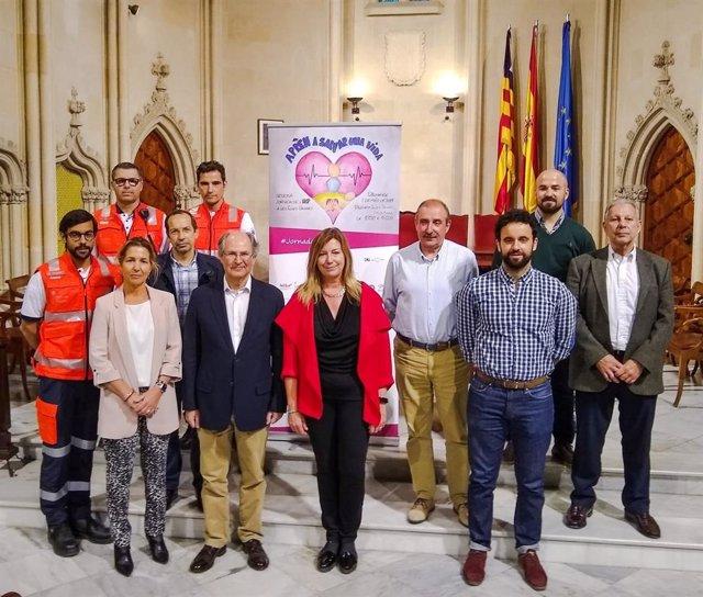 Una de cada cuatro personas de Baleares que presencia una parada cardiorespiratoria inicia las maniobras de reanimación