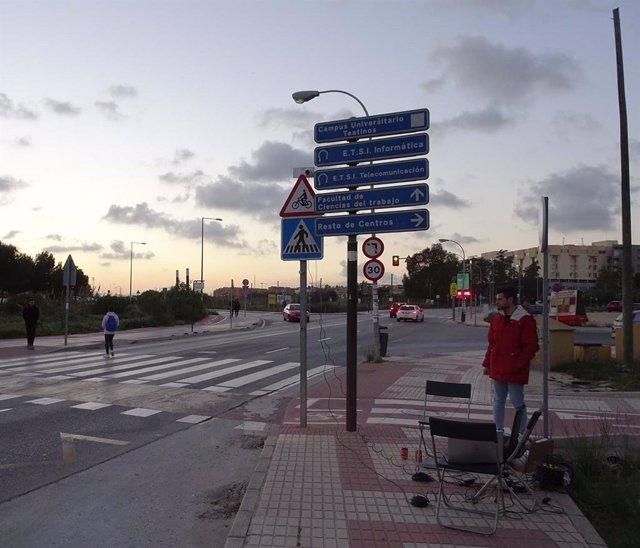 Málaga.- Un proyecto tecnológico de la UMA trabaja en inteligencia artificial para la señalización del campus