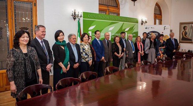 Jaén.- MásJaén.- Diputación subraya la contribución del jurado del Premio Jaén de Piano al prestigio de este certamen