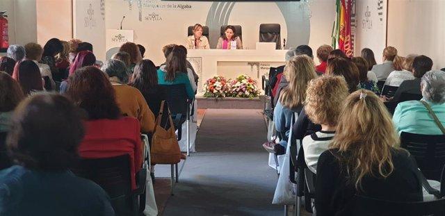 Sevilla.- El Palacio Marqueses de La Algaba acoge la jornada por el XXV aniversario del Consejo Municipal de la Mujer