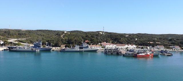Els bucs de l'exercici 'Esp Minex-19' atracaran aquest dissabte en Porto Pí per a una escala logística i de descans