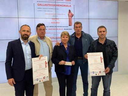 Diputación de Gipuzkoa y Ayuntamiento de Eibar homenajean al pelotari Miguel Gallastegui