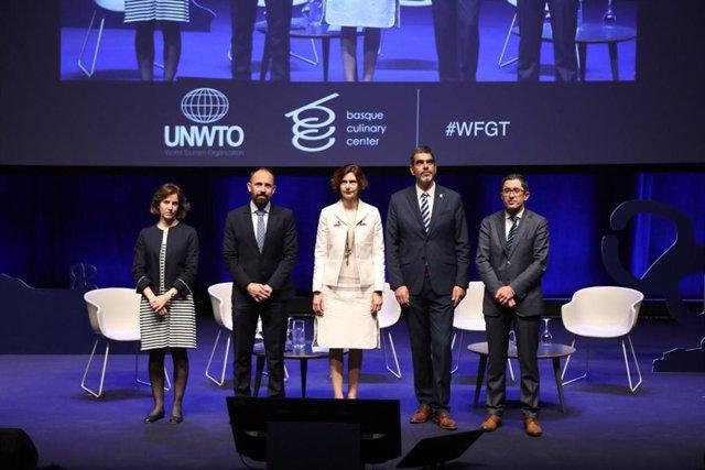 Más de 84 nacionalidades se dan cita en el V Foro Mundial del Turismo Gastronómico en San Sebastián