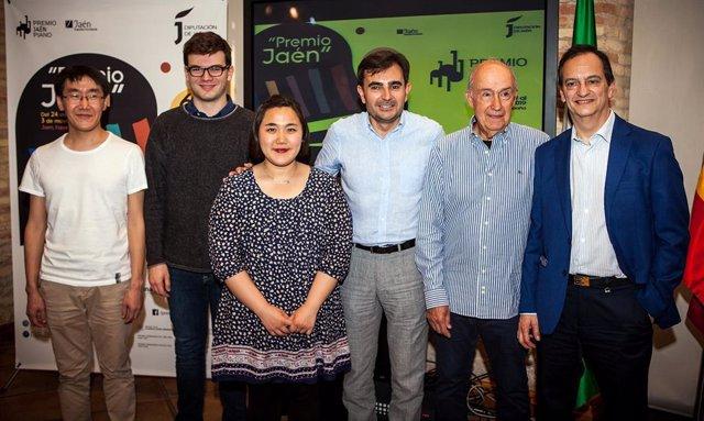 Jaén.-MásJaén.-Los finalistas del 61º Premio Jaén de Piano se decantan por Liszt y Chopin para su concierto con orquesta
