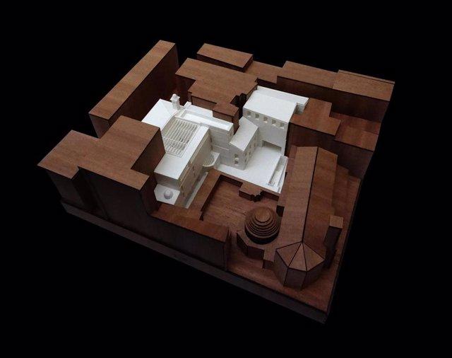 Valencia.- El futuro Centro de Arte Hortensia Herrero tendrá cuatro pisos y se podrán visitar restos del circo romano