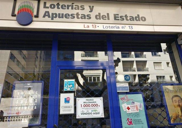 Málaga.- Un boleto sellado en Las Lagunas, premiado con casi 60.000 euros en el sorteo de la Primitiva