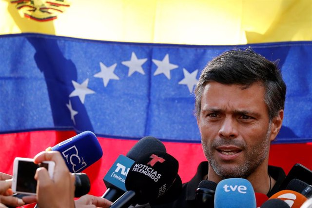 Leopoldo López agradece el apoyo a España y niega que el 30 de abril fuera un intento de golpe de Estado