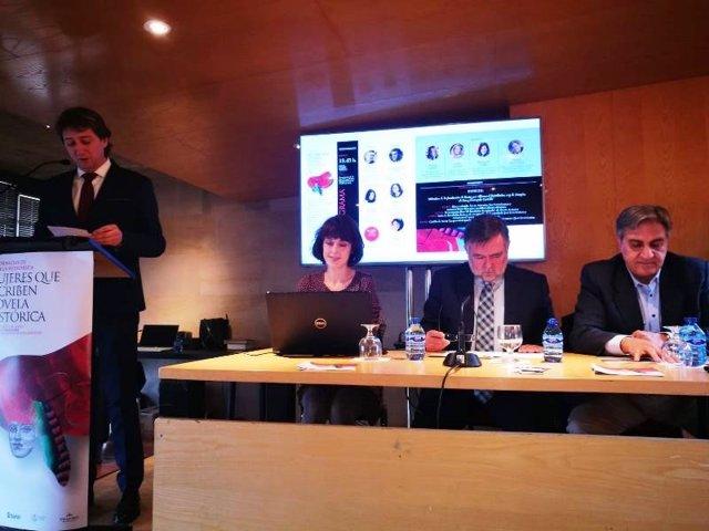 Irene Vallejo y José Calvo Poyato preludian las III Jornadas de Novela Histórica de Soria