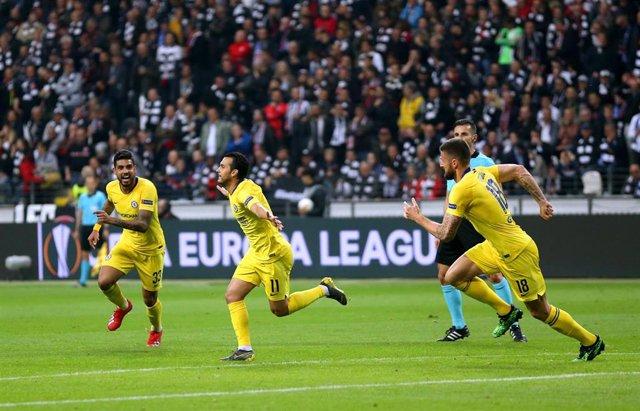 UEFA Europa League - Eintracht Frankfurt vs FC Chelsea