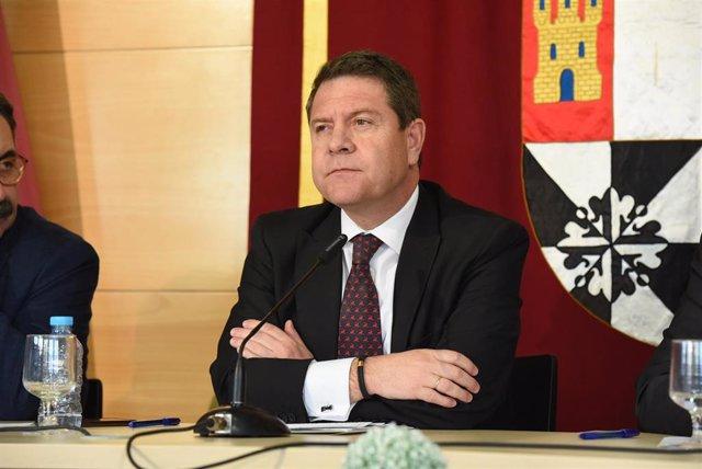 El presidente regional, Emiliano García-Page, en Talavera