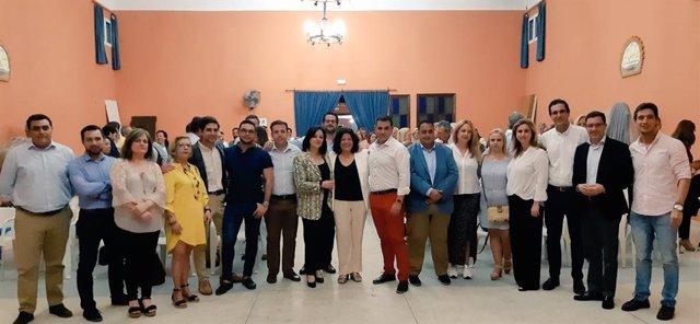 """Sevilla.- 26M.- El PP aspira a gobernar Huévar con """"compromiso y dedicación"""" frente a las """"calamidades"""" del PSOE"""
