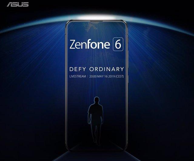 Asus ZenFone 6, pantalla completa sin notch para desafiar lo ordinario