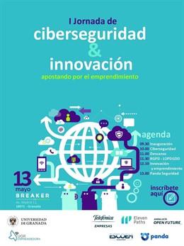 COMUNICADO: UGR y Telefónica organizan la I Jornada de Ciberseguridad, Innovación y Emprendimiento