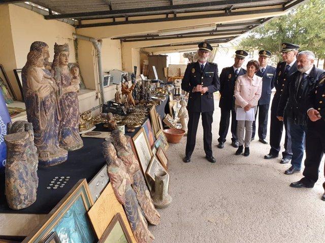 Sucesos.- Esclarecidos 38 robos con fuerza en viviendas, casetas y obras de Aranda de Duero (Burgos)