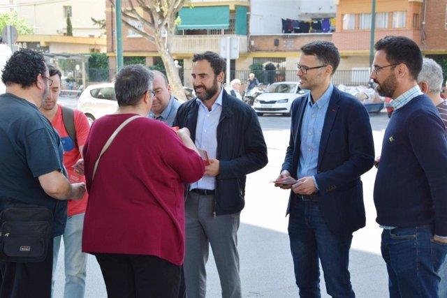 """Málaga.- 26M.- El PSOE promete un plan de aparcamientos """"asequibles"""" en las barriadas de Málaga"""