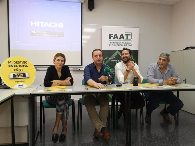 """Taxistas presentan la campaña 'Elige Taxi' para potenciar este servicio de """"personas que llevan a personas"""""""