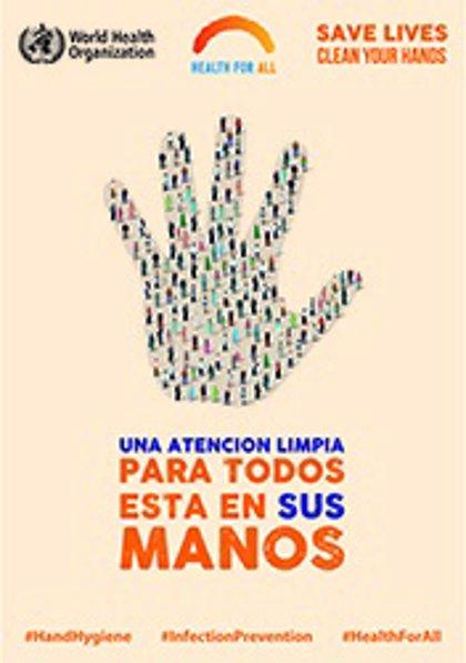 """La OMS pide fomentar la higiene de manos entre la población porque puede """"salvar vidas"""""""