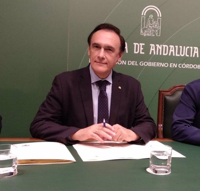 El rector de la UCO, José Carlos Gomez Villamandos