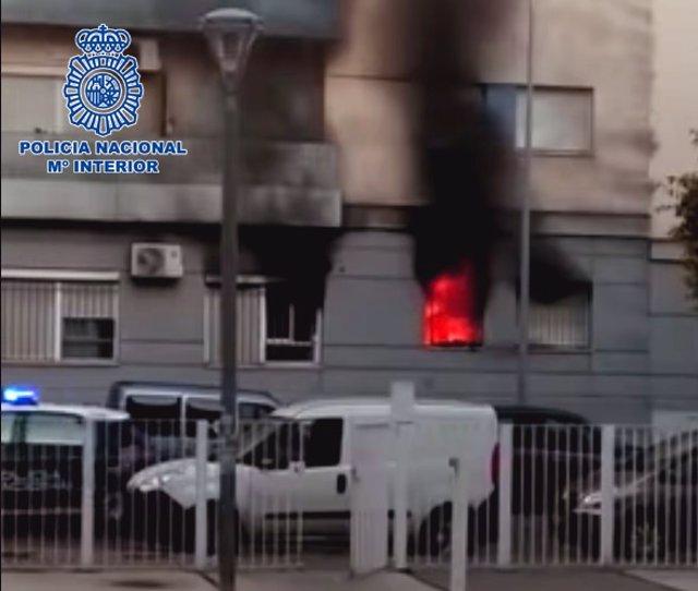 Nota De Prensa: Ingresan En Prisión Los Presuntos Autores De Un Incendio Provoca