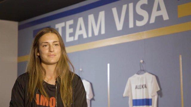 """Fútbol.- Alexia: """"Todo el fútbol femenino español estará en la final de 'Champions'"""""""