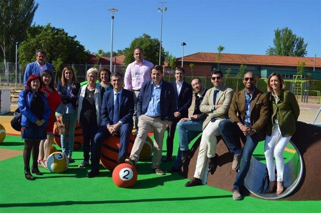 26M.- Román Construirá Un Parque De Ocio Deportivo En Las Lomas Si Es Reelegido Alcalde De Guadalajara