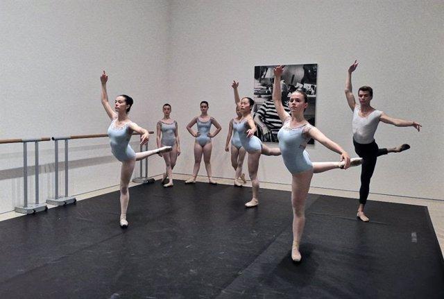 Málaga.- Alumnos del Conservatorio Profesional de Danza Pepa Flores reciben sus clases en el Museo Picasso Málaga