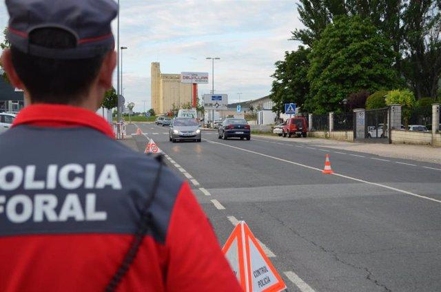 Policía Foral controla la velocidad de más de 40.000 vehículos durante la Semana Santa y denuncia a 4.365