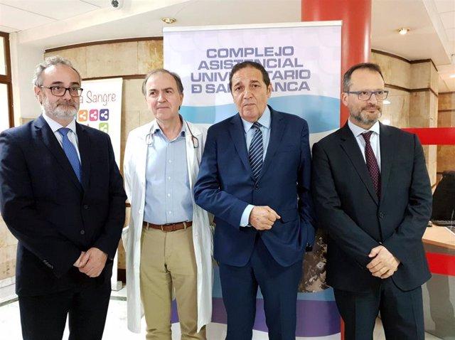 El Hospital de Salamanca comenzará este mes con el uso de terapias CAR-T en sus dos primeros pacientes
