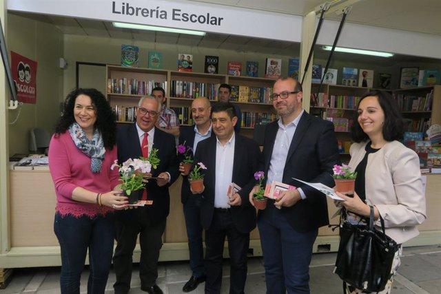 Jaén.-MásJaén.-Las librerías salen a la calle hasta el 12 de mayo para mostrar sus novedades en la XXXIV Feria del Libro