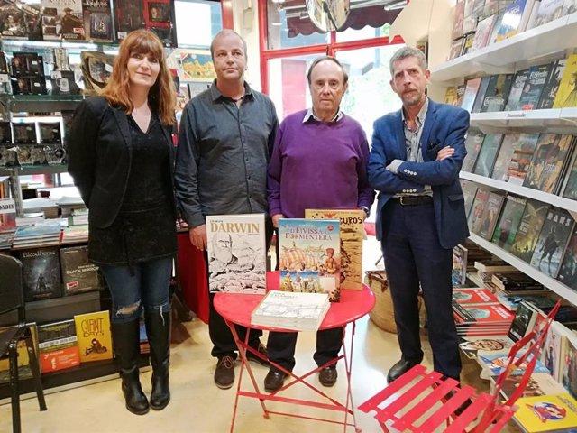 El Govern col·labora en la presentació a Palma de tres obres del dibuixant Joan Escandell