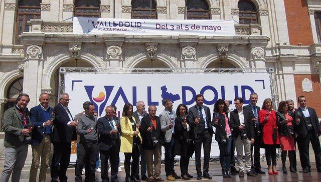 """Valladolid avanza en la promoción con 'Plaza Mayor del Vino' para situarse en """"la Champions"""" del enoturismo"""